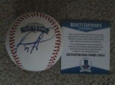 DAVID ORTIZ BOSTON RED SOX FENWAY PARK 100 YEARS SIGNED MLB BASEBALL BECKETT COA