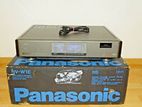 Panasonic NV-W1 Multinorm VHS-Recorder PAL / NTSC / SECAM, in OVP, 2J. Garantie