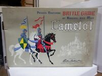 Camelot Parker Brothers Battle Game of Knights and Men 021121MGLSHELF
