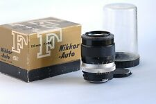 Nippon Kogaku Nikkor Q Auto 135mm f 2,8 NON AI Manual Focus Lens Obiettivo Nikon