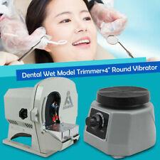 Dental Wet Model Trimmer Abrasive Disc Wheel Gypsum Arch 4 Round Vibrator Us