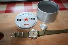 Genuine Seagull 1963 Pilot's chronograph reissue, hand winding