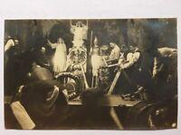 AK Altes Foto Minendepot Cuxhaven Aufführung Soldaten WW1 WK1 ca. 1912