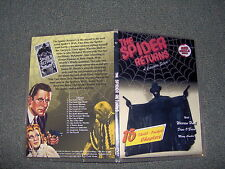 THE SPIDER RETURNS CLIFFHANGER SERIAL 15 CHAPTERS 2 DVDS