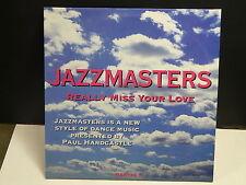 "MAXI 12"" PROMO JAZZMASTERS Really miss your love PAUL HARDCASTLE 2530"