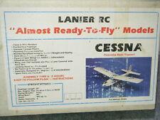 Vintage Lanier Rc Cessna Rc Plane Kit Arf