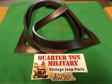 Jeep Willys MB GPW CJ2A inner windshield to outer frame seal T-rubber