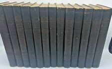 Real America in Romance Edwin Markham - Art Edition 13 Volumes Antique ART DECO