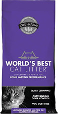 World's Best Cat Litter, Scented Clumping Litter Formula for Multiple Cats,