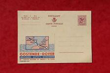 Entier postal Oostende-Dover 1965