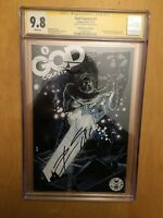 GOD COUNTRY 1, CGC 9.8, 25TH ANNIVERSARY BLIND BOX SS SIGNED DONNY CATES