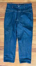 Marithe Francois Girbaud Brand X Blue Denim Men Cargo Jeans 34