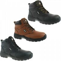 Dickies Newark Water Resistant Safety Mens Steel Toe Leather Work Boots UK6-12