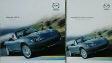 Mazda MX5 Artic Convertible  Sales Brochure & Separate Price List - July 2004