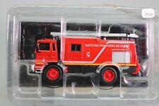 ZT106 Camion pompiers monde 39 1/64 1985 Fourgon appui Renault France Paris