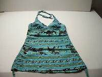 Croft & Barrow Tankini Swimsuit Top M size 10 Long