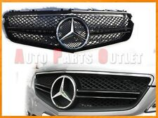 M-BENZ E63AMG Look Chrome Star w/Black Front Grille 10-13 C207 E-Class 2Dr Only