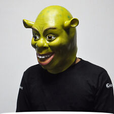 Halloween Adults Shrek Fancy Dress Cosplay Costume Latex Mask Popular HOT