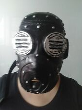 Sid Wilson Deluxe Gris capítulo Slipknot Tour Máscara Fancy Dress Up Adulto Cosplay