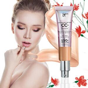 Long Lasting Isolation CC Cream SPF 50+ Makeup Moisturizing Whitening Cosme 32ml