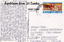 Sri Lanka 452 BUDDHA TEMPEL TEMPLE RELIGION KARTE ELEFANT ELEPHANT CARD CARTE