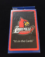 New listing Hunter Louisville Cardinals It's In The Cards Playing Cards Ncaa college New!
