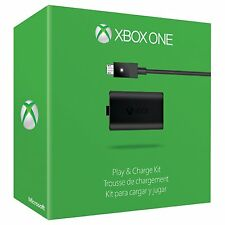 Official Microsoft  Xbox One Play and Charge Kit NEW