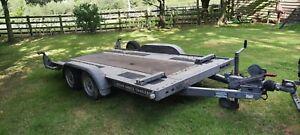 Car Trailer Twin Axle Used.