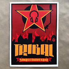 Shepard Fairey Tribal Streetwear Art Print Poster Graffiti Obey Giant Rare 1998