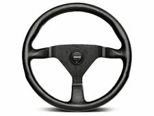 "MOMO Steering Wheel MONTE CARLO Black Leather 350mm  ""US Dealer"""