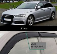 For Audi A6 Avant 4G,C7 2011-2018 Side Window Visors Sun Guard Vent Deflectors