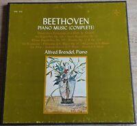 Beethoven Piano Music Alfred Brendel VOX Stereo SVBX 5421 3 LP Box