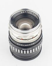 Voigtländer Septon 50mm f2 Vintage Manual Lens With Sony E Mount Adapter