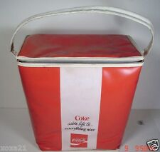 1960's  issue of Coca Cola Vinyl Cooler - Lunchbox -Lunchbag - No 2