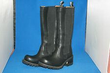 Prime boots stiefel lederstiefel design black hoch leder neu  gr. 42 woman