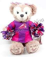"NEW Disney Parks SHELLIE MAY Disney Bear Cheer Cheerleader 12"" Plush Toy"