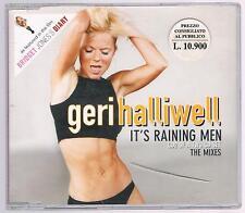 GERY HALLIWELL SPICE GIRLS IT'S RAINIG MEN CD2 THE MIXES CD SINGOLO SINGLE cds