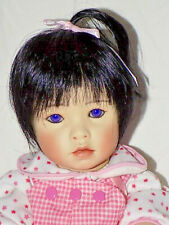 "Baby Doll ""Hai-Ku"", Porcelain Head & Arms / Cloth Body, Violet Eyes 15 in."