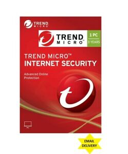 Trend Micro Internet Security 2021 - 3 Years/1 PC (DLC - download content)