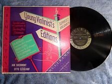 RARE JAN SHERMONT YOUNG VIOLINIST'S SERIES ONE VOL. 3 REMINGTON YV-3