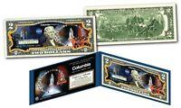 Space Shuttle COLUMBIA Missions Genuine Legal Tender U.S. $2 Bill NASA