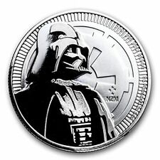 Star Wars Darth Vader silver collector coin