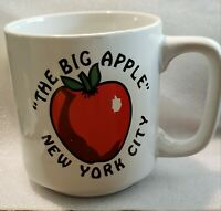 Vintage New York City Big Apple Coffee Mug Cup