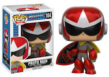 Funko Pop Games: Mega Man - Proto Man Vinyl Figure