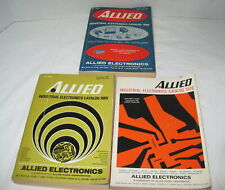 New ListingVintage Allied Electronics Industrial Catalogs=1968, 1969 and 1970