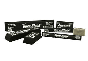 Dura-Block 7-teiliges Hook & Loop Sanding Kit AF44HL SchleifblockSet Seife Klett