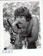 Alex Cord barechested w/pistol Last Grenade