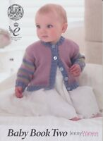 Baby Book Two Knitting Book King Cole Patterns Double Knitting Prem to 2 yrs