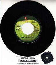 "JOHN LENNON  Instant Karma (We All Shine On) BEATLES 7"" 45 rpm vinyl record NEW"
