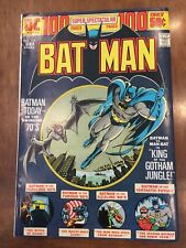 Dc Comics Batman Issue #254 (1974) Man-Bat Appearance 100 Page Giant Book